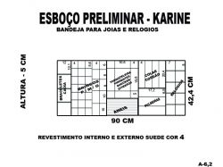 BANDEJAS DE COLAR , BRACELETES E BRINCOS