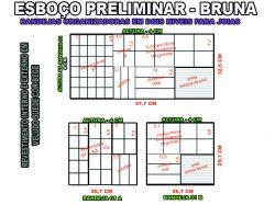 projeto bruna,organizador