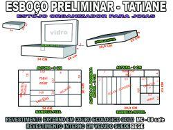 projeto tatiane + estojo