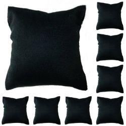 lote com 100 almofadas na cor preto tamanho m
